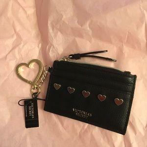 Victoria secret card pocket key chain